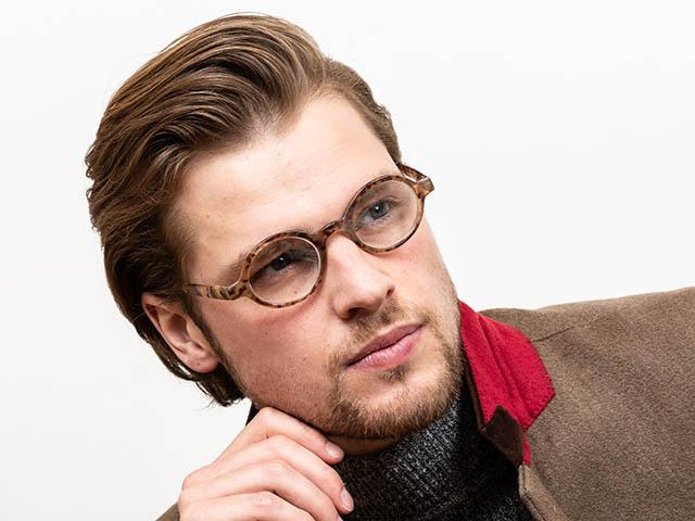 Reading Glasses 'Kensington' Light Brown