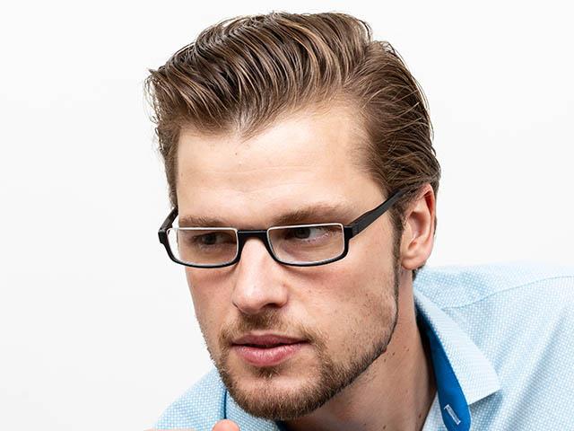 Reading Glasses 'Sloane' Matt Black