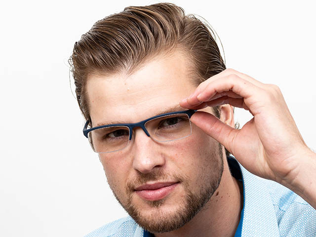 Reading Glasses 'Parliament' Blue