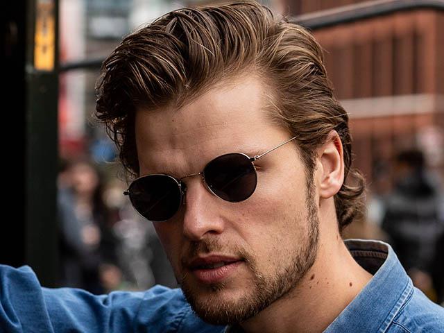 Reading Sunglasses 'Bakerloo' Silver