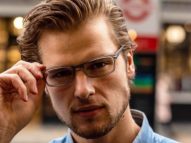 Reading Glasses 'Alex' Grey/Tortoiseshell