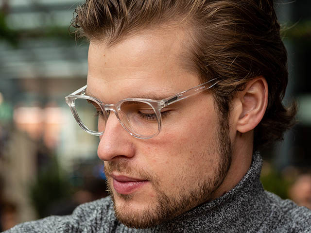 Reading Glasses 'Perrie' Transparent