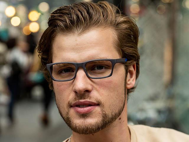 Reading Glasses 'Joshua' Grey/Blue