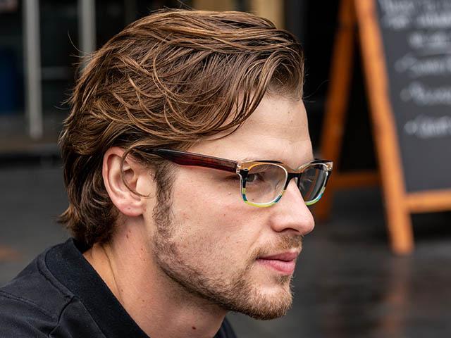 Reading Glasses 'Carnival' Brown Multi