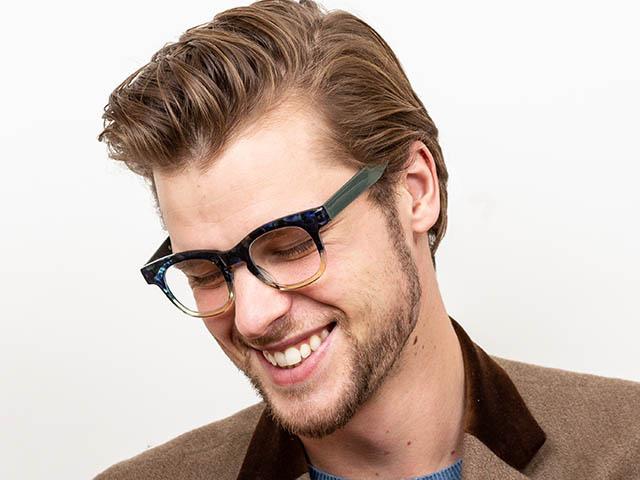 Reading Glasses 'Bravo' Green