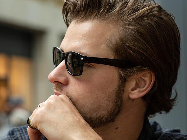 Sunglasses Polarised 'Orleans' Black