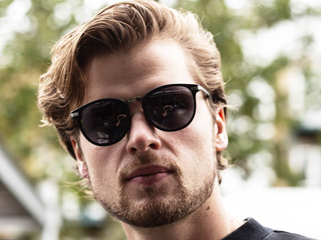Sunglasses Polarised 'Skye' Matt Black