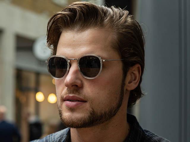 Sunglasses Polarised 'Riley' Transparent