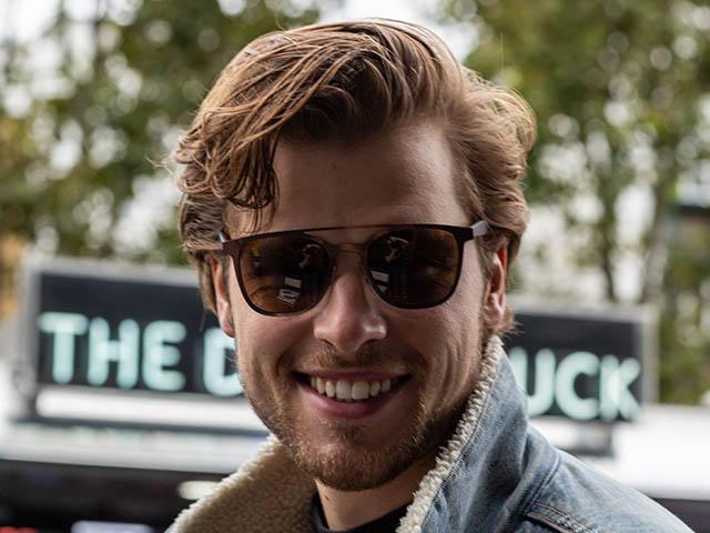 Sunglasses Polarised 'Longbeach' Brown