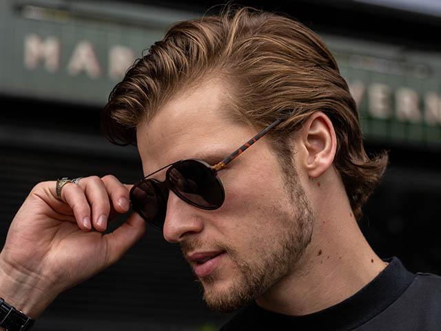 Sunglasses Polarised 'Cruise' Matt Tortoiseshell