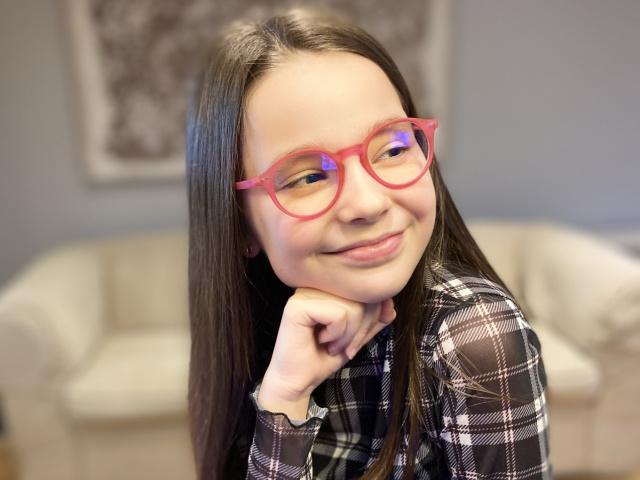 Blue Light Non-Prescription Glasses 'Sydney Kids' Fuchsia
