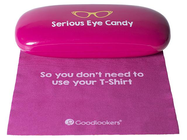 Slogan Case Pink Cloth