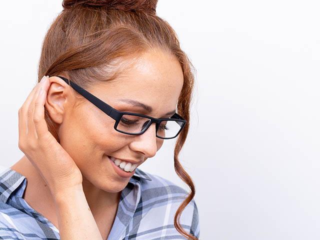 Reading Glasses 'Detroit' Black