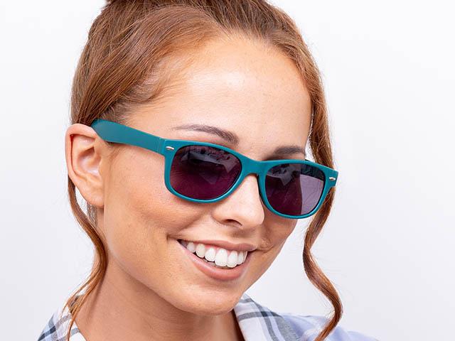 Reading Sunglasses 'Dakota' Matt Turquoise