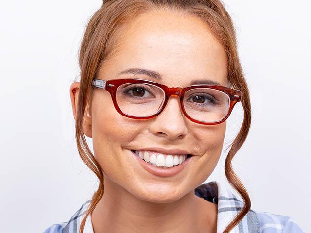 Reading Glasses 'Tate' Brown