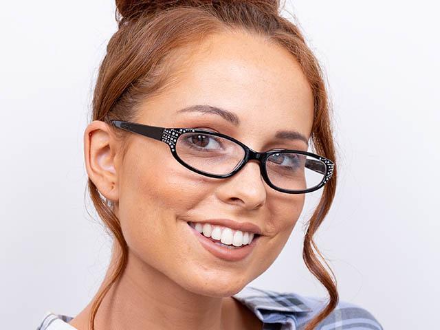 Reading Glasses 'Genevieve' Black