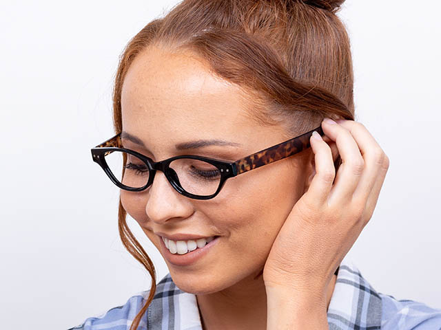 Reading Glasses 'Layla' Black/Tortoiseshell
