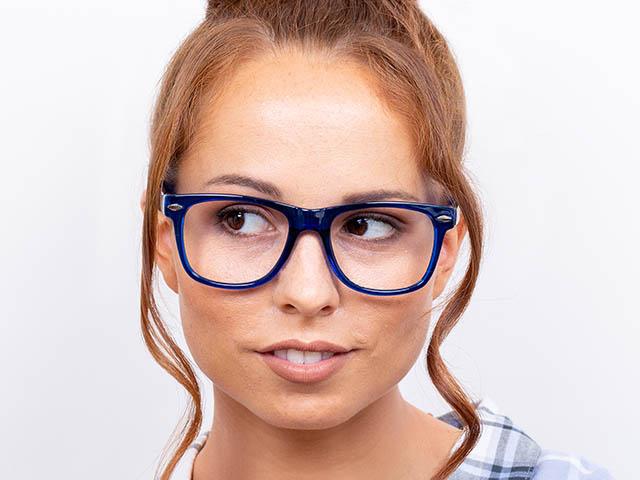 Reading Glasses 'Billi Big' Blue