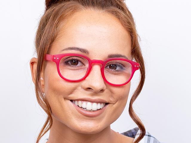 Reading Glasses 'Holiday' Fuschia