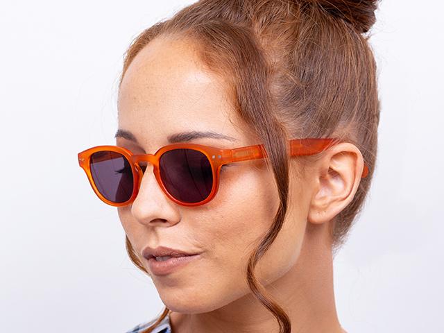 Reading Sunglasses 'Holiday' Orange