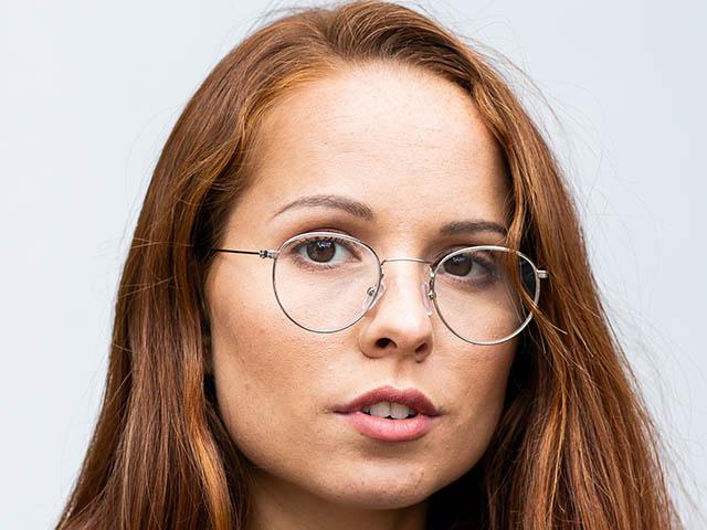 Reading Glasses 'Bakerloo' Silver