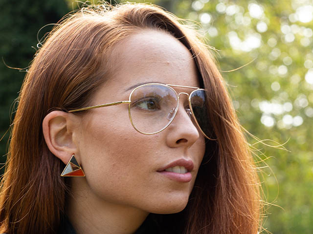 Reading Glasses 'Ace' Gold