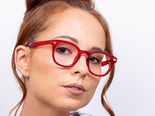 Reading Glasses 'Joy' Red