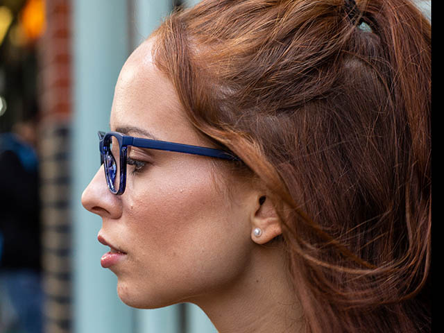 Reading Glasses 'Dulwich' Blue
