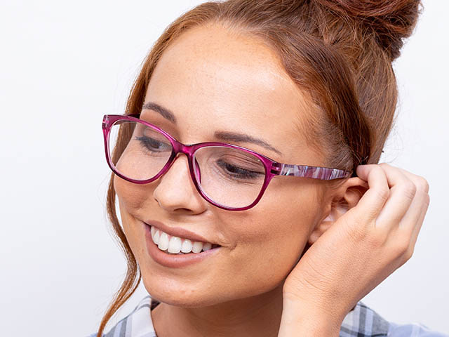 Reading Glasses 'Alli' Fuchsia