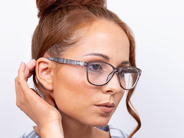 Reading Glasses 'Alli' Taupe