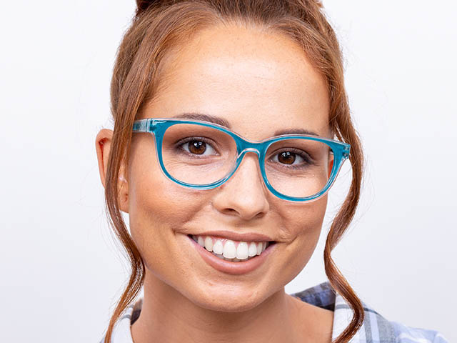 Reading Glasses 'Robyn' Turquoise