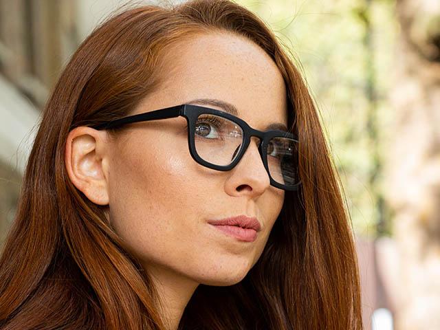 Reading Glasses 'Burbank' Matt Black