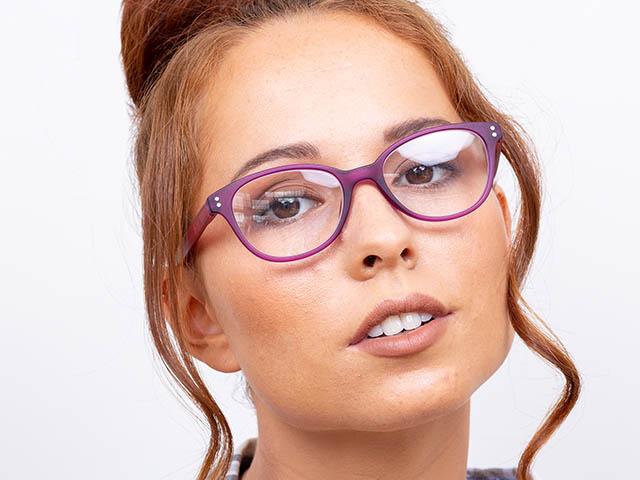 Reading Glasses 'Emmy' Purple/Pink