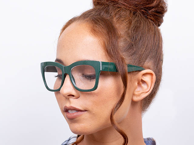 Reading Glasses 'Showtime' Green
