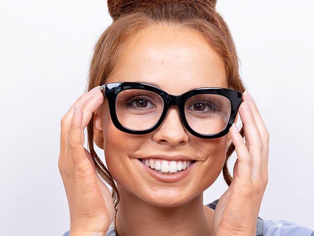 Reading Glasses 'Encore' Shiny Black