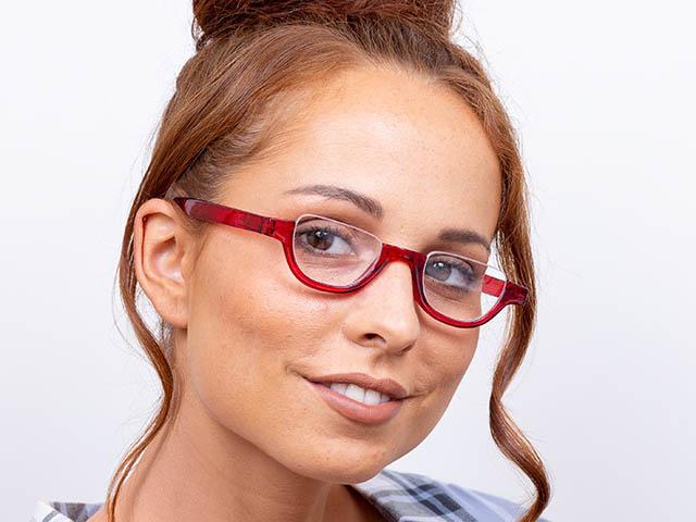 Reading Glasses 'Henley' Red