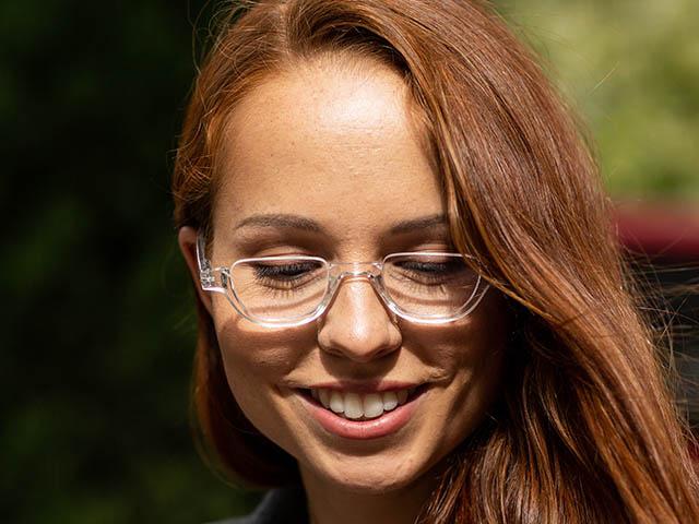 Reading Glasses 'Henley' Transparent