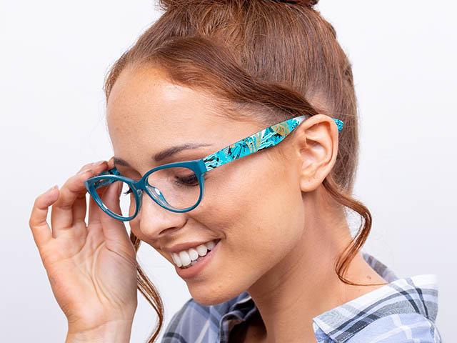 Reading Glasses 'Eden HD' Turquoise