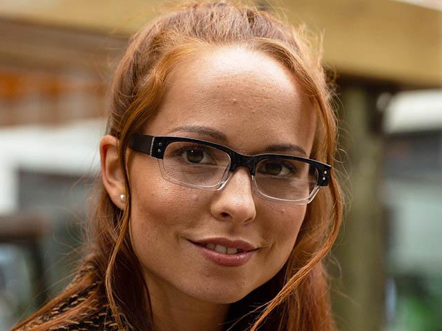 Reading Glasses 'Portabello' Black
