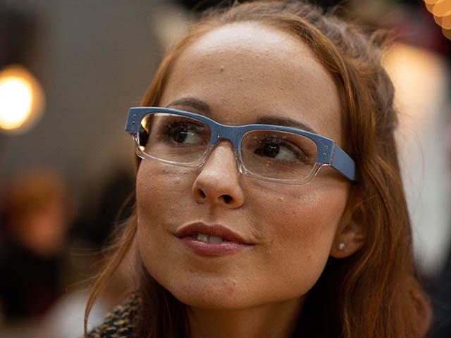 Reading Glasses 'Portabello' Light Blue