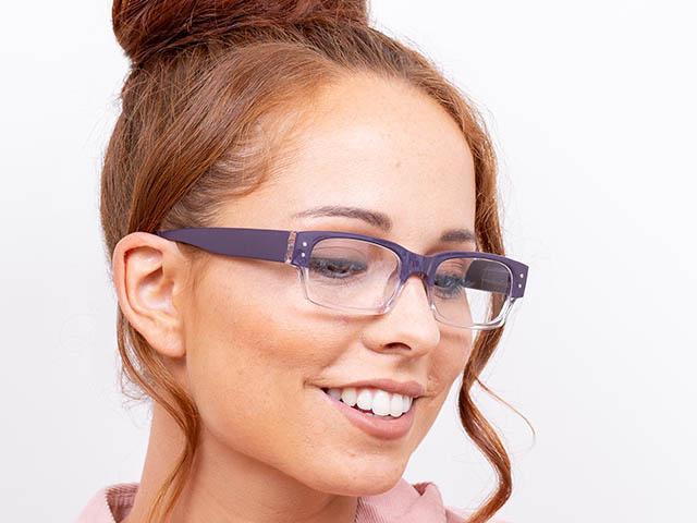 Reading Glasses 'Portabello' Purple