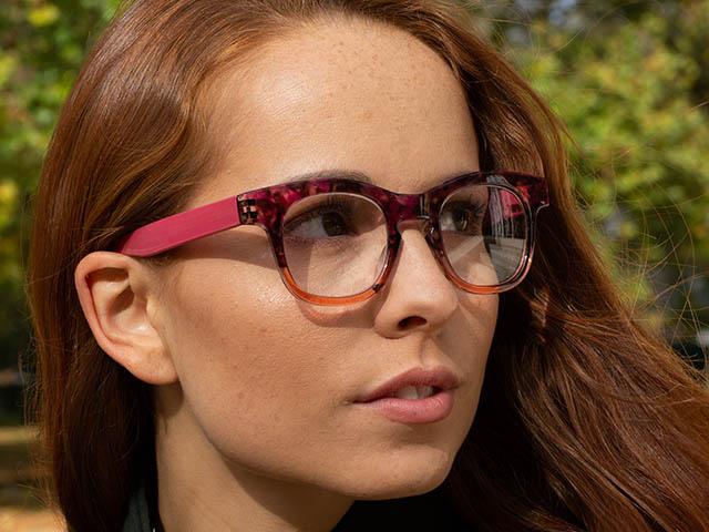 Reading Glasses 'Bravo' Pink