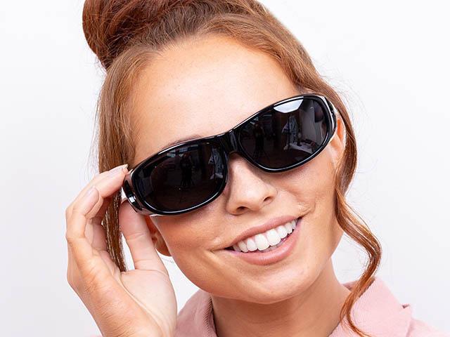 Sunglasses 'Coverspecs' Black