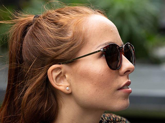 Sunglasses Polarised 'Skye' Tortoiseshell