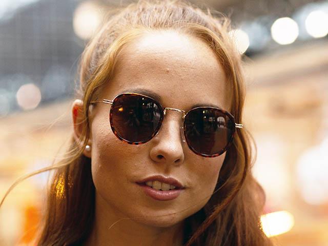 Sunglasses Polarised 'Riley' Tortoiseshell