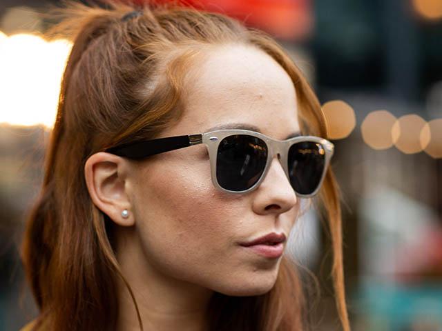 Sunglasses Polarised 'Regan' Grey