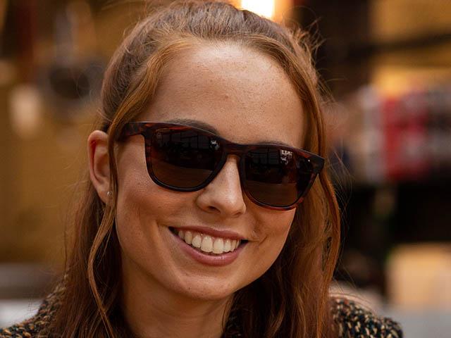 Sunglasses Polarised 'Rockford' Tortoiseshell