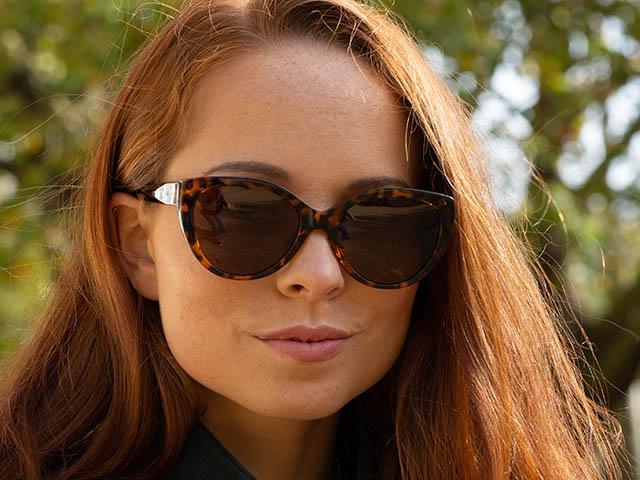 Sunglasses Polarised 'Willow' Tortoiseshell