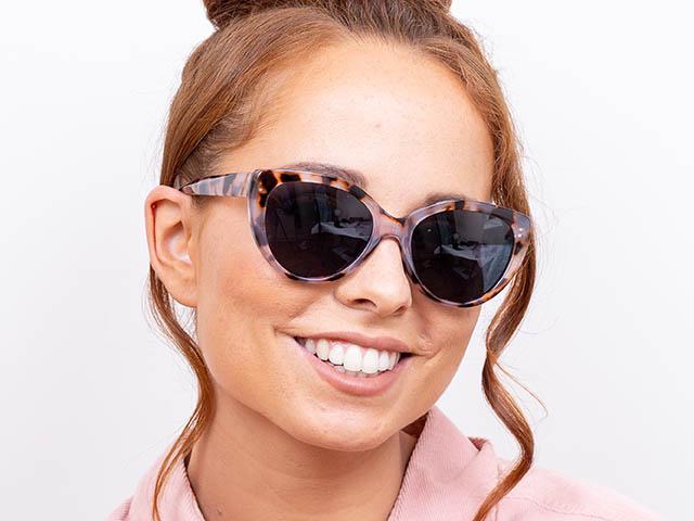 Sunglasses Polarised 'Willow' White Tortoiseshell