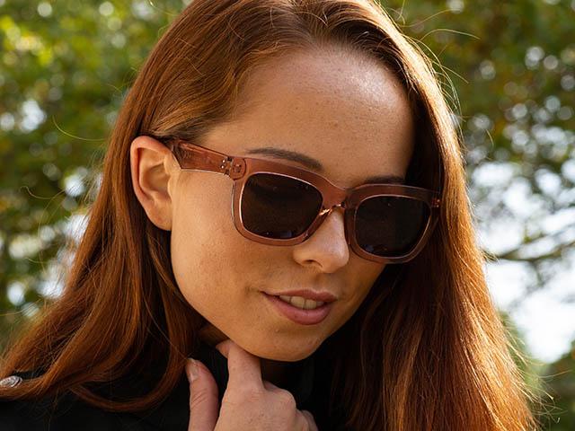 Sunglasses Polarised 'Sheridan' Brown